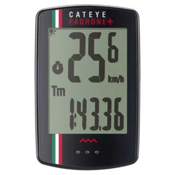 CatEye Padrone Plus (with Backlight) Limited Edition Italy CC-PA110W, Black