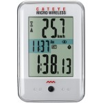 CatEye Micro Wireless Bike Computer CC-MC200W, White