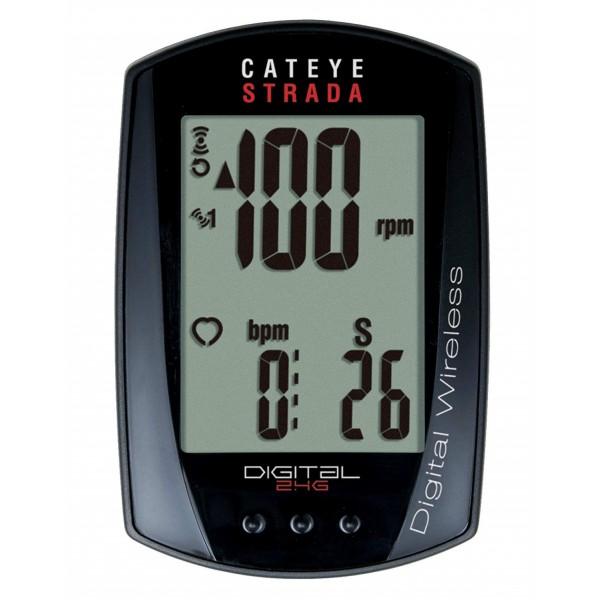 CatEye Strada Digital Triple Wireless Speed/Cadence/Heartrate CC-RD430DW