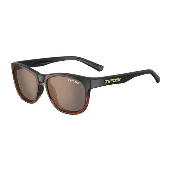 Tifosi Swank Sunglasses, Brown Fade / Brown