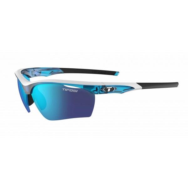 Tifosi Vero Sunglasses, Skycloud  with Clarion Blue / AC Red / Clear Interchangeable Lenses