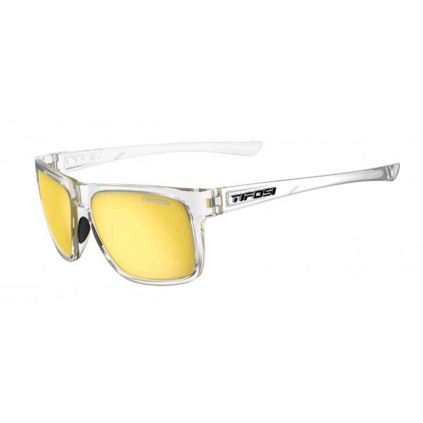 Tifosi Swick Sunglasses, Crystal Clear Smoke Yellow