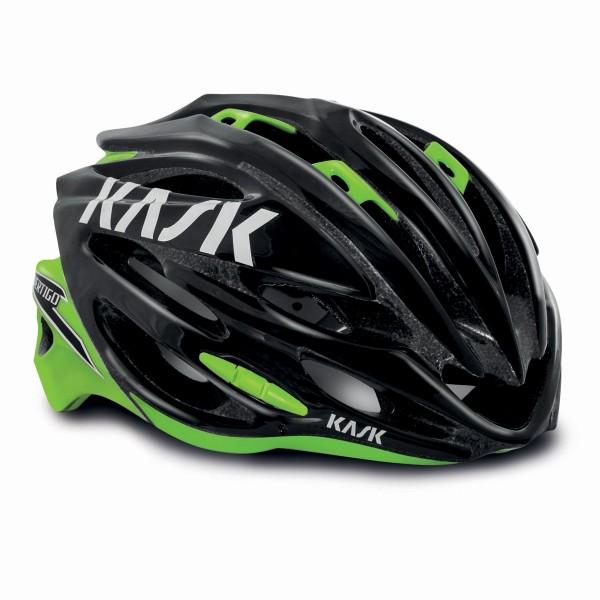 Kask Vertigo 2.0 Helmet, Black / Lime