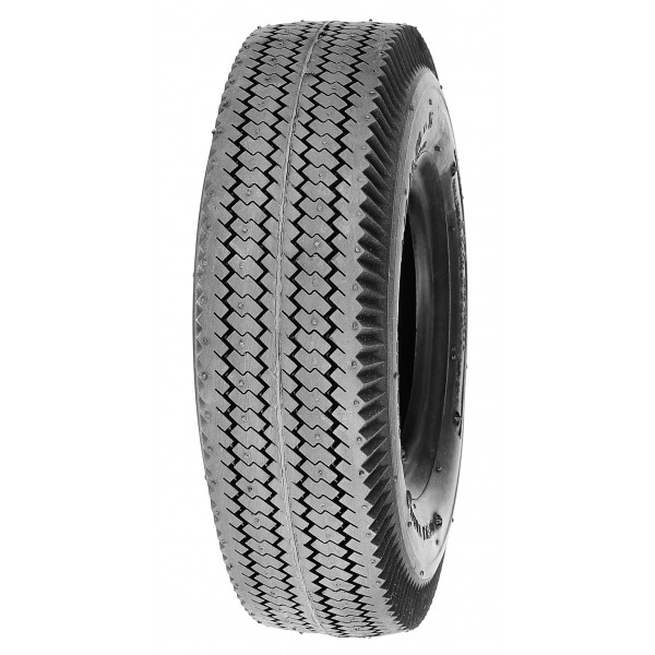 Deli Tire 4.10/3.50-6, Sawtooth Tread, 4-Ply, Tubeless, Lawn and Garden Tire