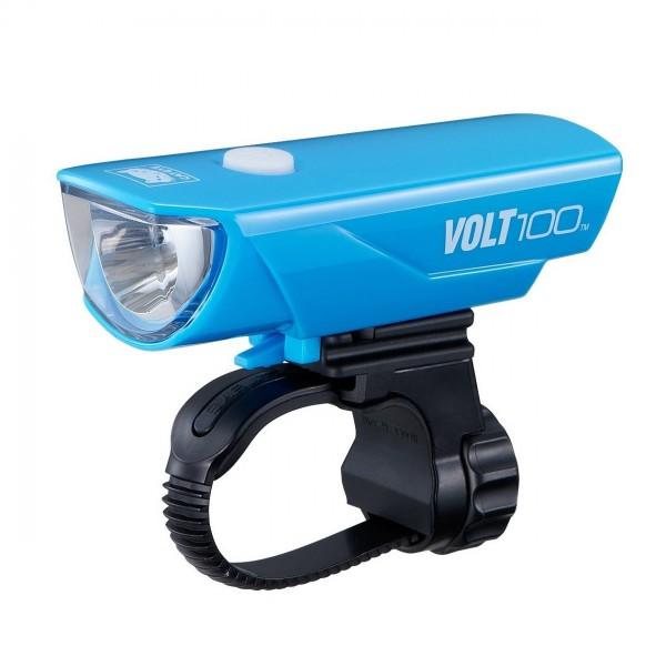 CatEye Volt 100 USB Rechargeable Headlight HL-EL150RC (Blue)
