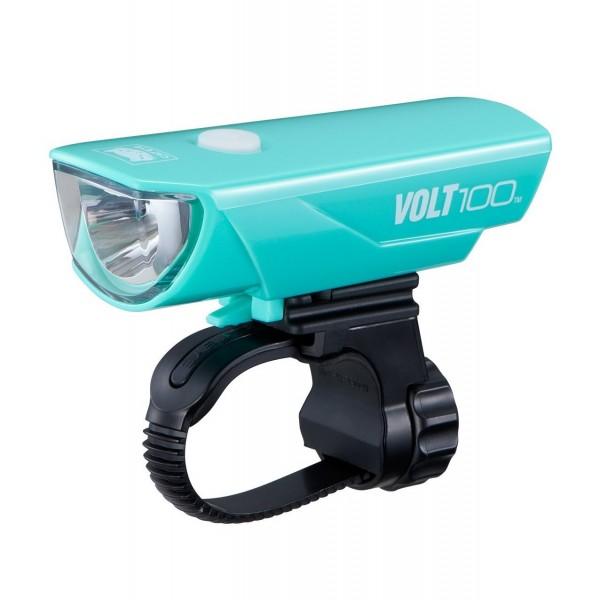 CatEye Volt 100 USB Rechargeable Headlight HL-EL150RC (Green)