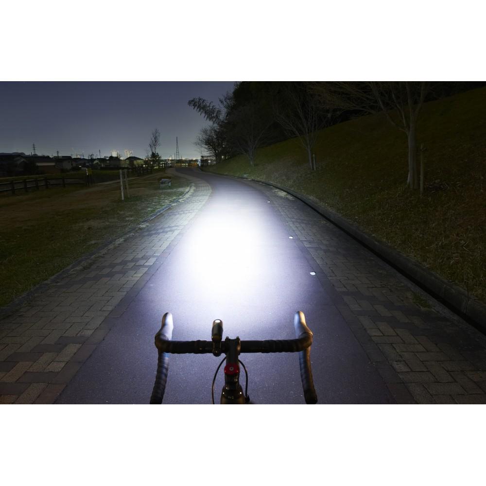 CATEYE VOLT 300 HL-EL460RC BLACK BICYCLE FRONT HEAD LIGHT W// HELMET MOUNT