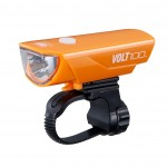 CatEye Volt 100 USB Rechargeable Headlight HL-EL150RC (Orange)