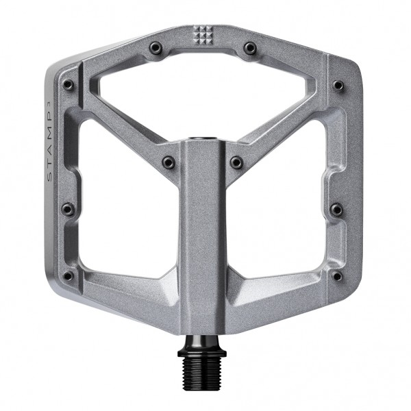 Crankbrothers Stamp 3 (Gen 2) Bike Pedals, Large, Charcoal Grey