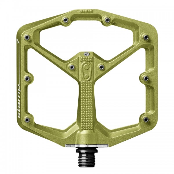 Crankbrothers Stamp 7 Large Bike Pedals, Limited Edition, Green
