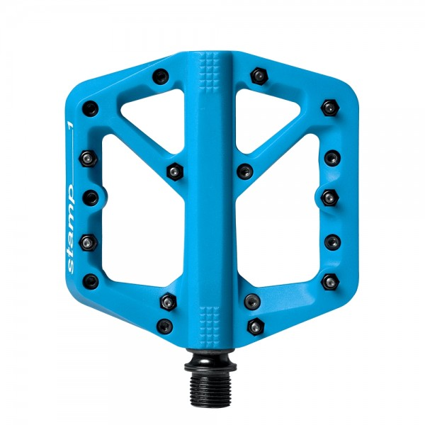 Crankbrothers Stamp 1 Small Bike Pedals, Blue