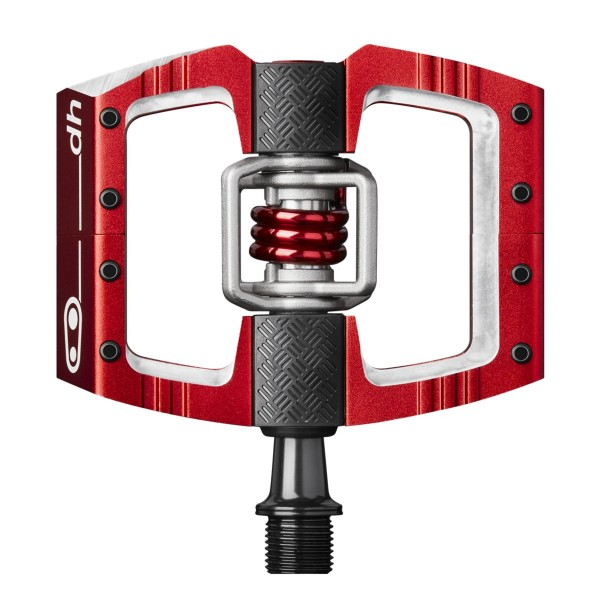 Crankbrothers Mallet Downhill (DH) Bike Pedals, Red