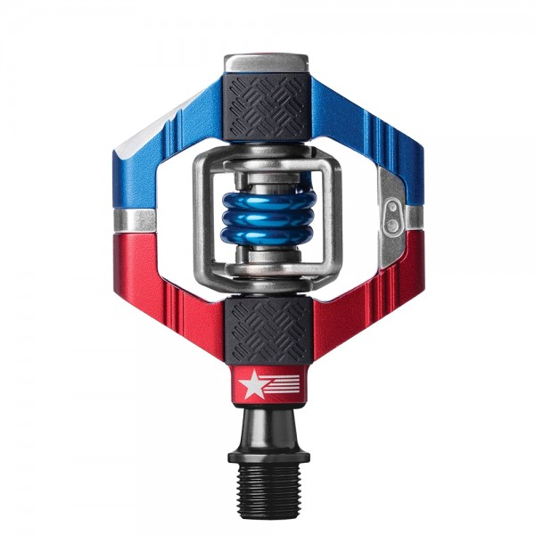 Crankbrothers Candy 7 Bike Pedals, USA edition