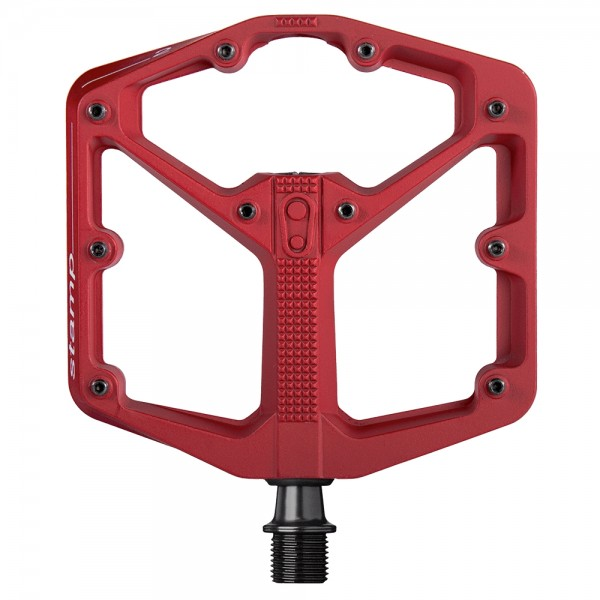 Crankbrothers Stamp 2 Large Bike Pedals, Red