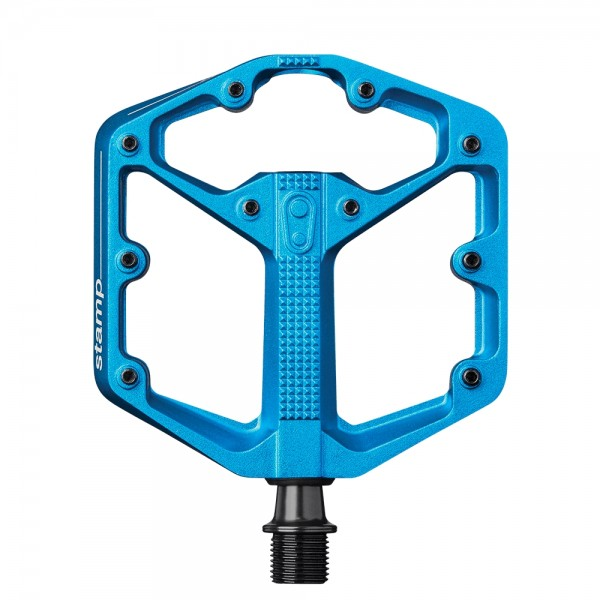 Crankbrothers Stamp 3 Small Bike Pedals, Blue
