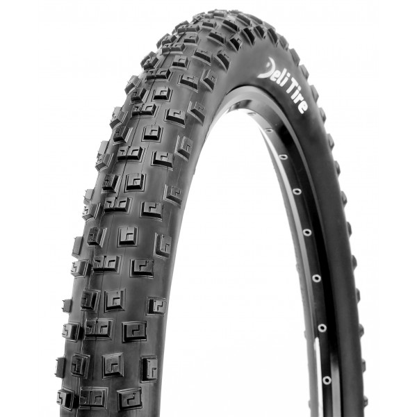 Deli Tire, High Performance Mountain Bike Tire, Folding, 62 TPI, 27.5 inch x 2.80